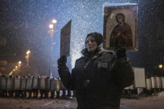 Молитва на Грушевской 8