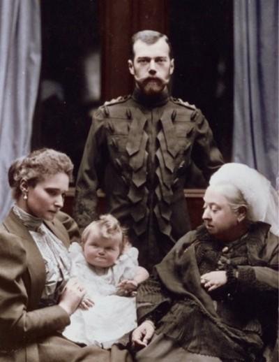 с королевой Викторией