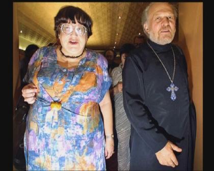 Новодворская и ее духовник